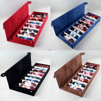 8 grid glasses storage box sunglasses storage shelf display props high quality oblong multi-grid sunglasses display rack - On Trends Avenue