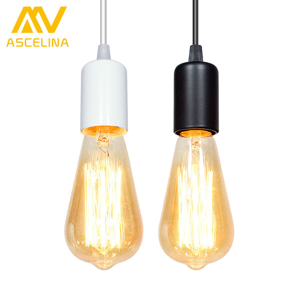ASCELINA loft pendant lights Christmas decorations for home lighting industrial vintage lamp light fixture lampshade E27 85-260V - On Trends Avenue