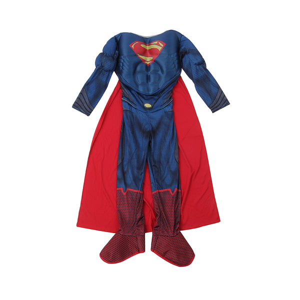 ... Deluxe Child Man Of Steel Muscle Superman Costume Boys Superhero Fancy Dress UP Halloween Party Great ...  sc 1 st  On Trends Avenue & Deluxe Child Man Of Steel Muscle Superman Costume Boys Superhero ...