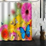 Custom Butterfly New Unique Design Creative Home Bathroom Shower Curtain beautiful For your family Curtains for bath