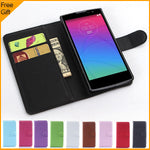 Luxury PU Leather Flip Case Cover For LG Spirit 4G LTE H440N H420 Cell Phone Shell Case Back Cover With Card Holder & Gift Black - On Trends Avenue