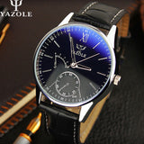 Mens Watches Top Brand Luxury Famous Quartz Watch Men Wristwatches Male Clock Wrist Watch Quartz-watch Relogio Masculino - On Trends Avenue