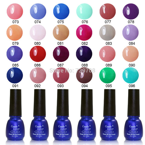 Candy Lover Hot-Selling  Gel Nail Polish 240 Fashion Colors Soak Off LED/UV Nail Gel Polish 1 pcs 8ml Nail Gel - On Trends Avenue