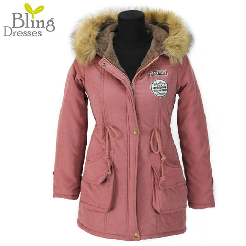Available in Large Sizes  Women Parks Down comforter coat - On Trends Avenue