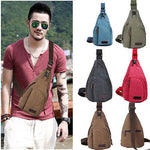 Hot Vintage Men Canvas Satchel Casual Cross Body Messenger Shoulder Bag - On Trends Avenue