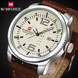 New NAVIFORCE Men Luxury Brand Watches Men's Quartz Date Analog Clock Fashion Sports Watches Man Army Military Wrist Watch - On Trends Avenue