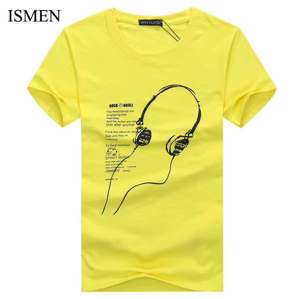 Available in Large Sizes Men's T-Shirts Cotton Plus Size S-5XL Tee Shirt Homme Short Sleeve Men T Shirts Male TShirts Camiseta Tshirt Homme - On Trends Avenue