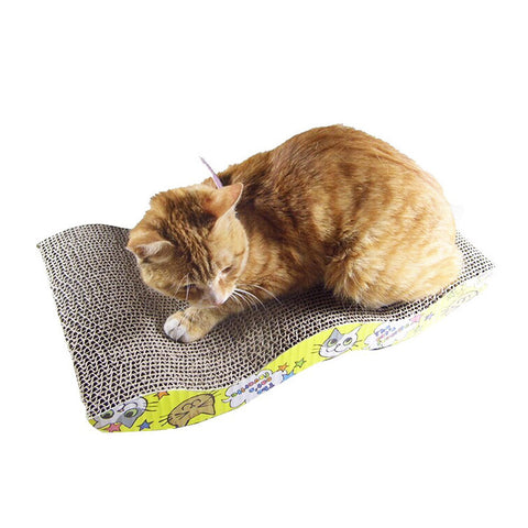 Mastone Scratcher with Catnip Cat Lounge Handmade Cats Kitten Scratcher Scratching Post Interactive Toy For Pet Cat Training - On Trends Avenue