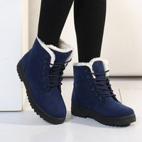 Botas femininas women boots new arrival women boots warm snow boots fashion platform shoes women fashion ankle boots - On Trends Avenue