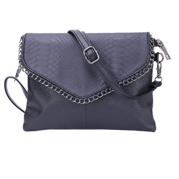 Cheap Women Envelope Bag Pu leather Handbag shoulder bags Ladies Crossbody Sling Messenger Bag Purses Blue Black Brown 7 colors - On Trends Avenue