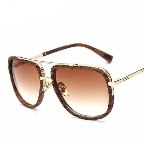 Brand Designer Sunglasses Men Women Retro Vintage Sun glasses Big Frame Fashion Glasses Top Quality Eyeglasses  UV400 - On Trends Avenue