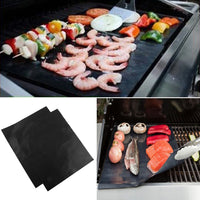 1pc Non Stick Liners Oven Liner Grill Foil Barbecue Liner Reusable Teflon Cooking Sheet - On Trends Avenue