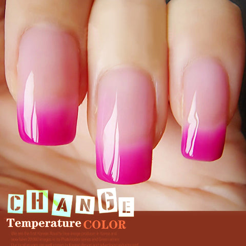 Yao Shun Hot Sale 8ml Nail Gel Polish Mood Temperature Thermal Color Change UV/LED Soak Off Gel Nail Polish Fashion Colors - On Trends Avenue