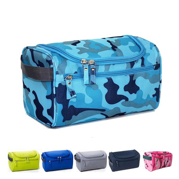 Waterproof Men Hanging Toiletry Bag Nylon Travel Organizer Cosmetic Bag For Women Large Necessaries Make Up Case Wash Makeup Bag - On Trends Avenue