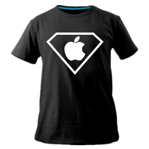 Fashion Brand Creative Mens Funny T-Shirt Casual Cool Tshirts Cotton Superman Apple Batman Moscow T Shirt Camiseta - On Trends Avenue