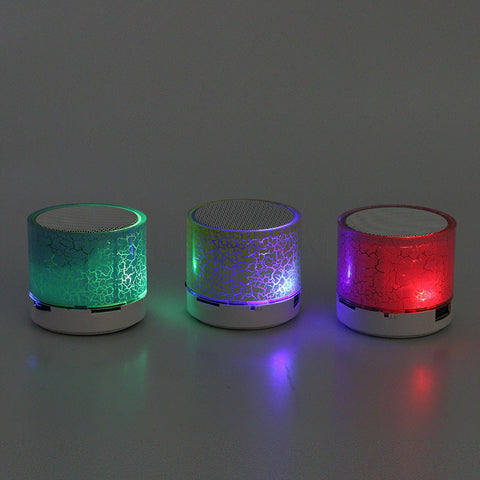 Mini Bluetooth Bluetooth Led Light Music Speaker Wireless Bluetooth Colorful Subwoofer - On Trends Avenue