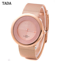 TADA Brand New Fashion Style Women Watch Lady Refinement Watch stainless Steel Bracelet Chain Luxury Watch High Quality - On Trends Avenue