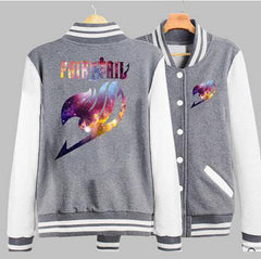 real limited special offer full new couples clothing anime fairy tail guild emblem baseball sweatshirt jacket men hoodie - On Trends Avenue