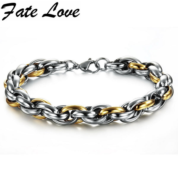New Fashion Hot selling stainless steel bracelets men jewelry fashion Stainless Steel Men's Bracelet 639