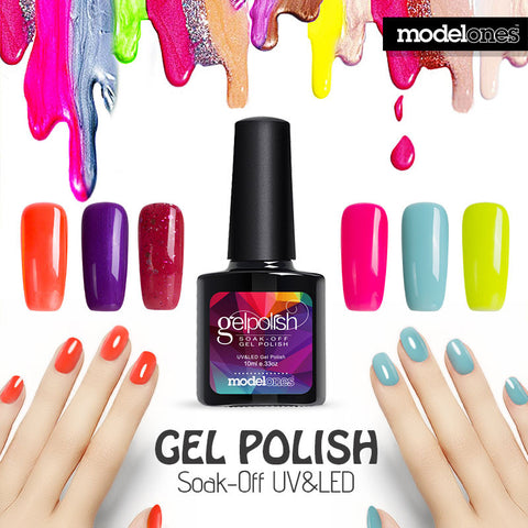 Modelones UV Nail Gel Polish UV Led Shining Colorful 10ml Long Lasting Soak off UV Nail Gel Cheap Manicure - On Trends Avenue