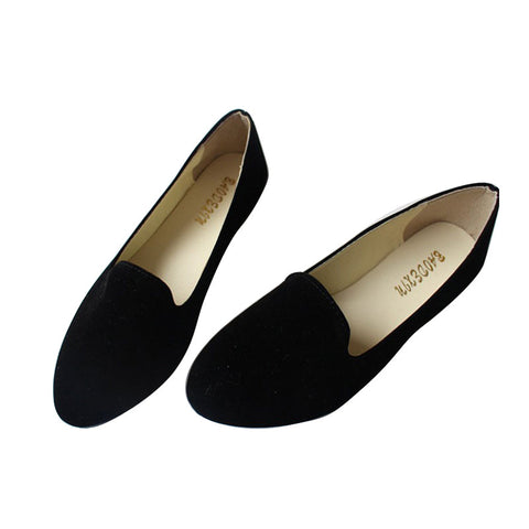 women flat Shoes Casual shoes ballet flats slip on Women shoes woman Loafers candy color zapatos mujer DT55 - On Trends Avenue