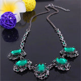 New Statement Choker Fashion Charms Crystal Collar Vintage Cubic Zircon Diamond Necklaces&Pendants Women Jewelry Colares G006 - On Trends Avenue