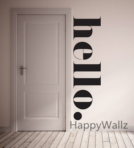 Hello Home Family Quote Wall Sticker - On Trends Avenue