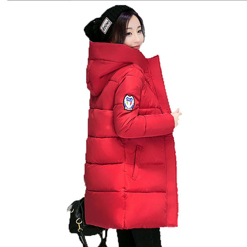 Wadded Jacket Female New Women's Winter Jacket Brand Jackets Slim Parkas Ladies Coat Plus Size Coatscasacos de inverno feminino - On Trends Avenue