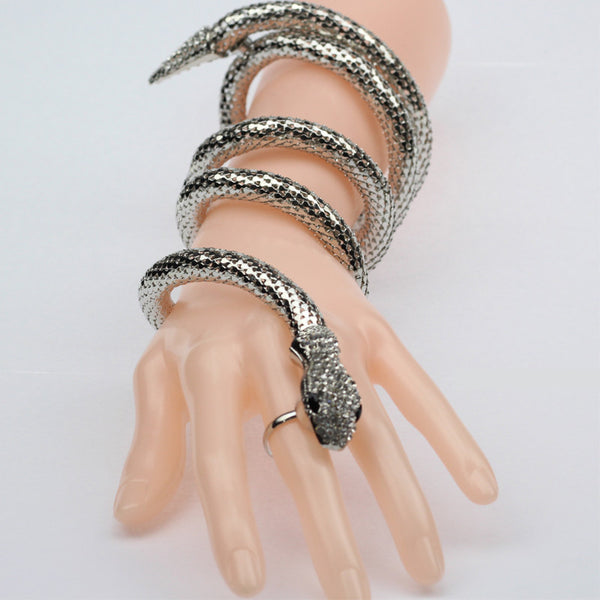 Cuff Bangle Retro Snake Bracelet - On Trends Avenue