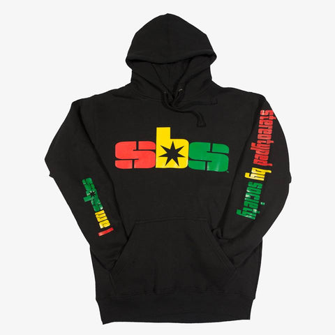 stereotyped by society rasta i am sbs hoodie