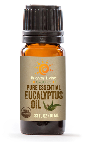 USDA CERTIFIED ORGANIC EUCALYPTUS ESSENTIAL OIL (INDIA)- 10ml