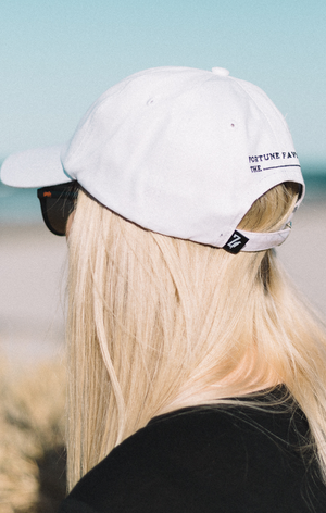 Staple Dad Cap - Pure White