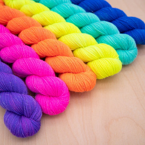 Tropical Sun Neon Yarn Set