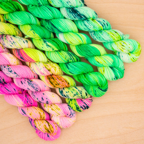 Like Lilly Speckled Fade Mini Skein Set