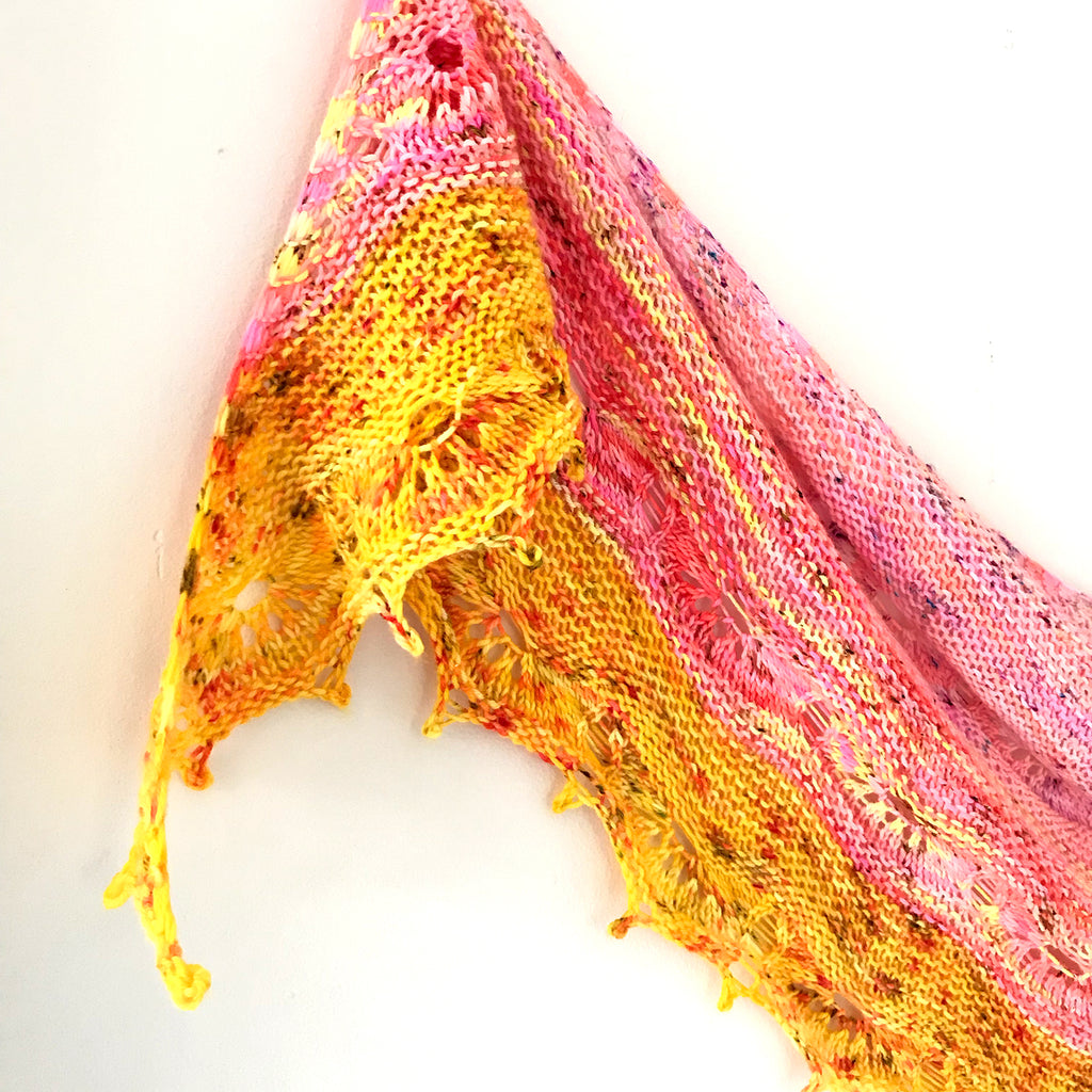 Odyssey Shawl - Three Skein Kit READY TO SHIP