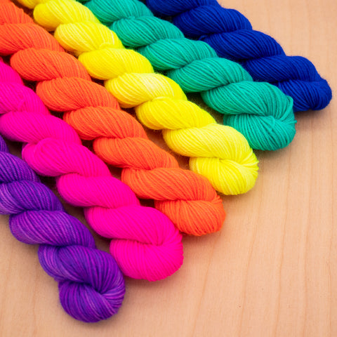 Tropical Sun Mini Skein Set