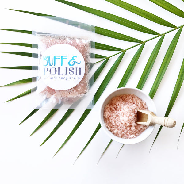 Coconut & Lime Body Scrub Travel Size 100g
