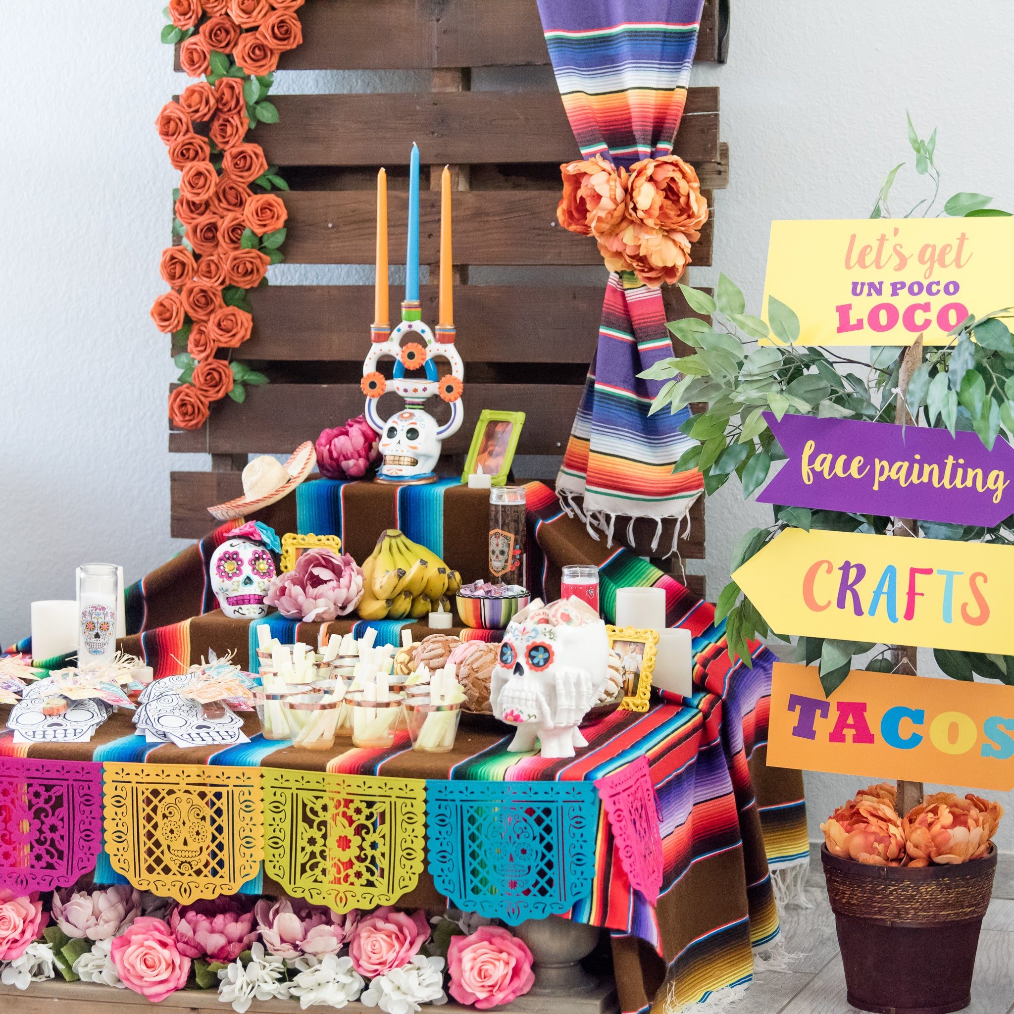 Coco Inspired Birthday Party