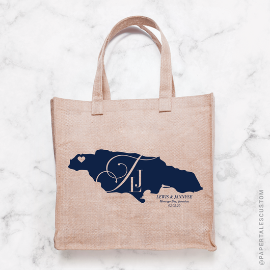 Elegant Monogram, Tote Bag Decal Design // DIGITAL