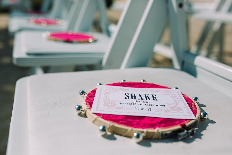 Shake It For The Bride and Groom Tag