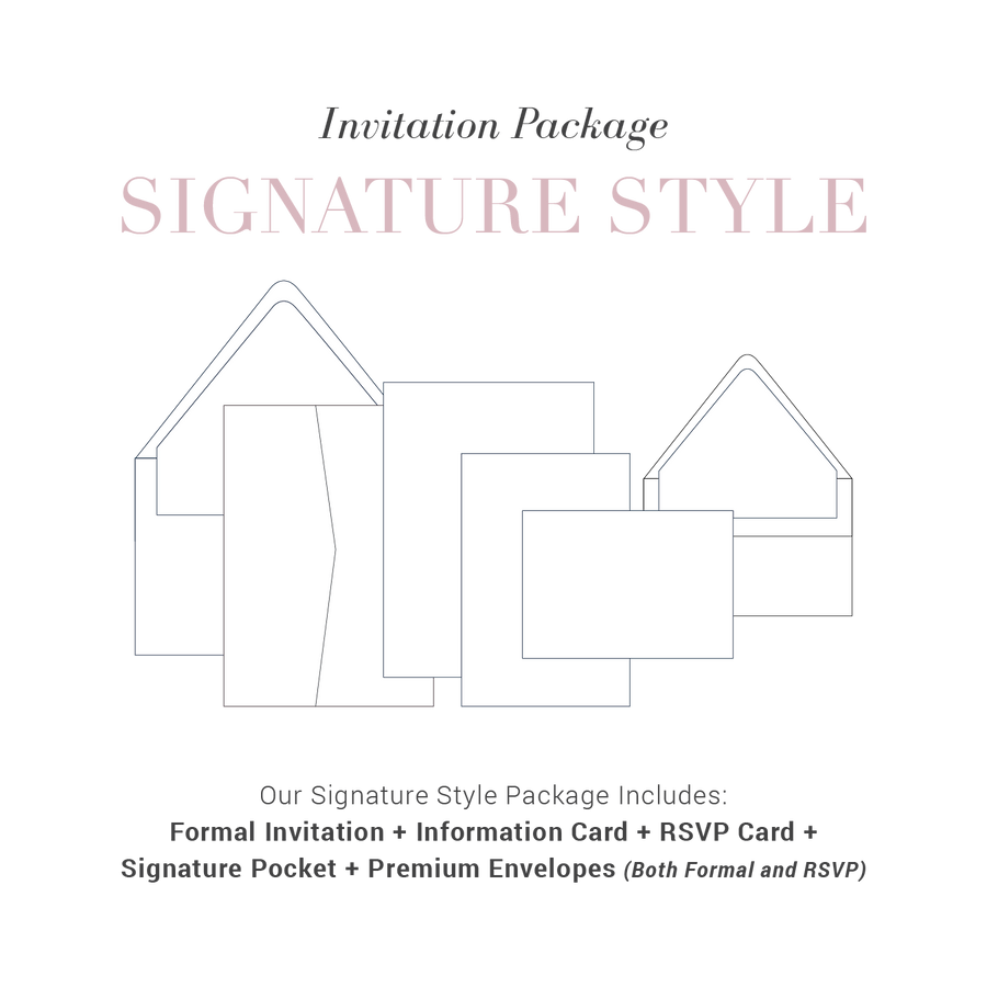 Signature Style Wedding Package