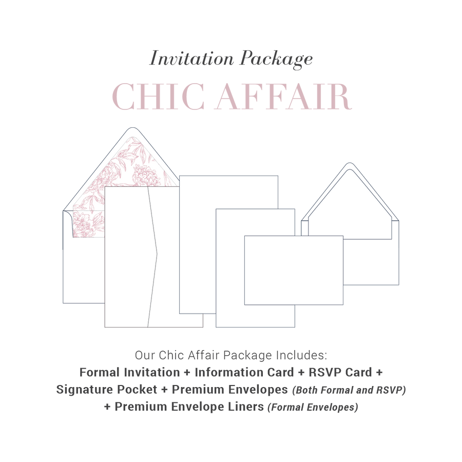 Chic Affair Wedding Package