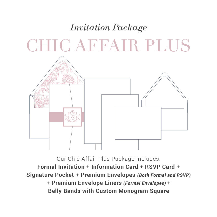 Chic Affair Plus Wedding Package