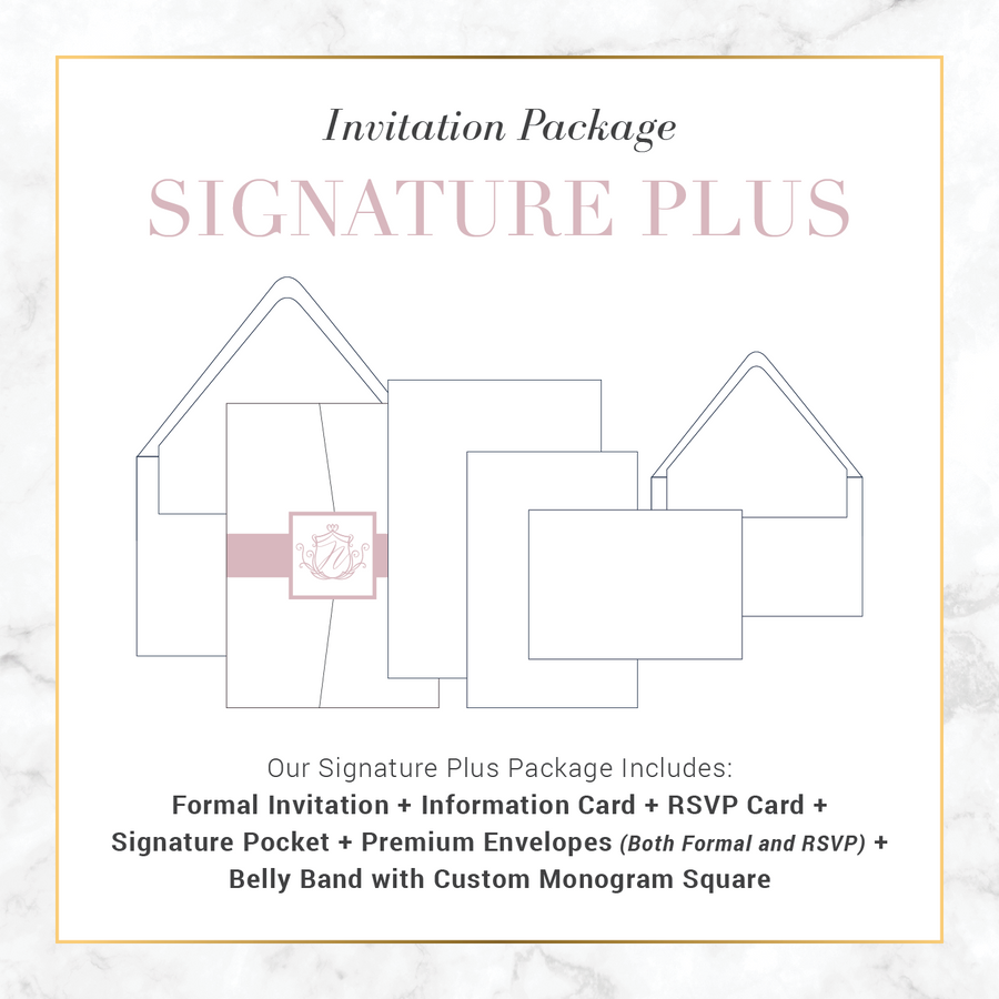 Signature Plus Wedding Package