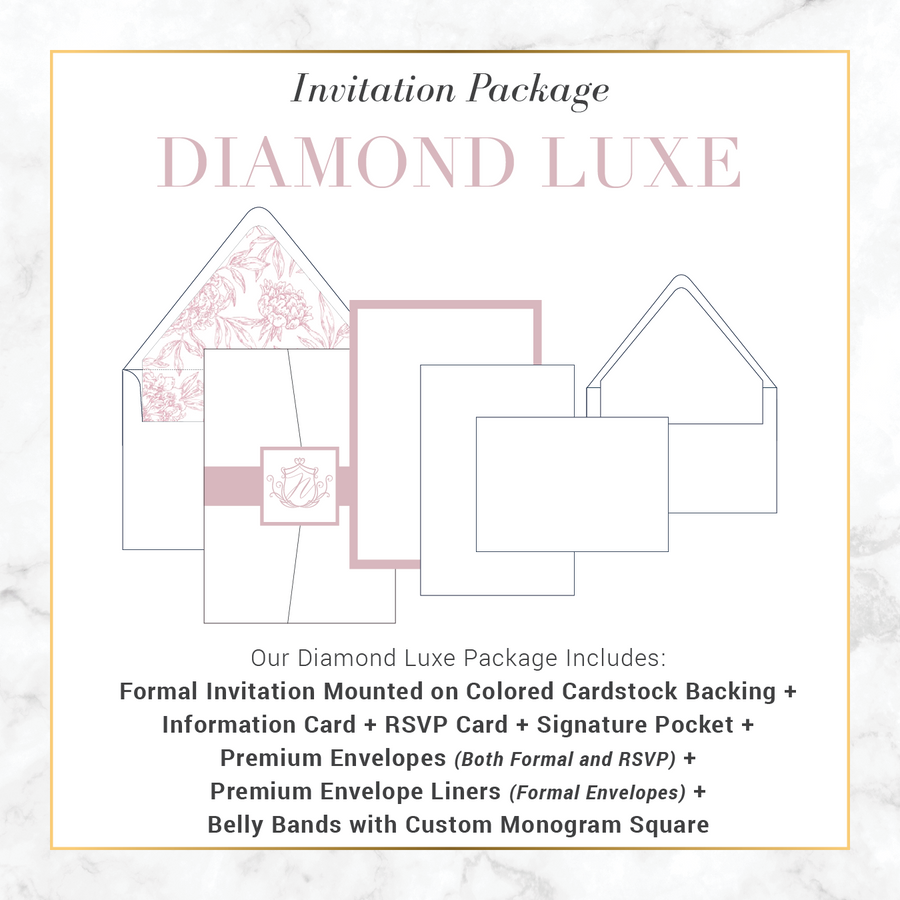 Diamond Luxe Wedding Package