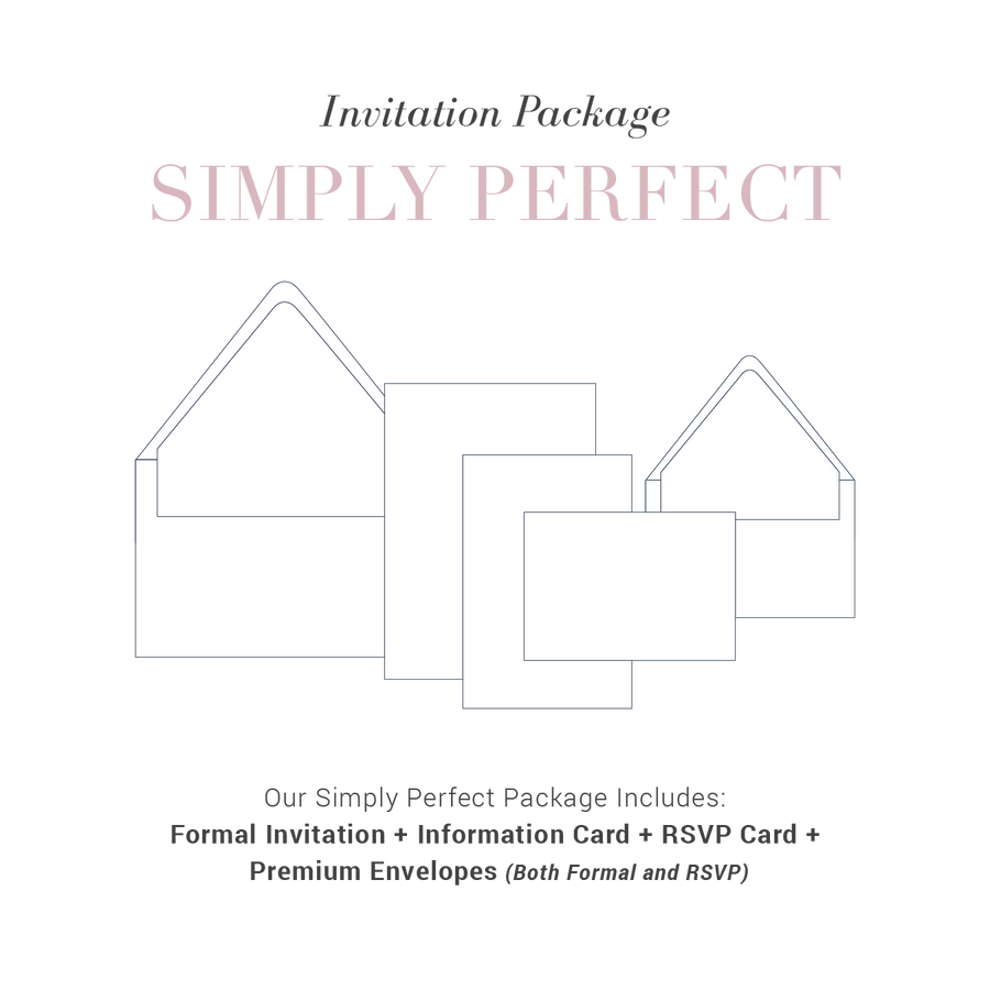 Simply Perfect Wedding Package