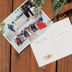 Photo Style, Destination Wedding, Post Card Thank You Note // DIGITAL