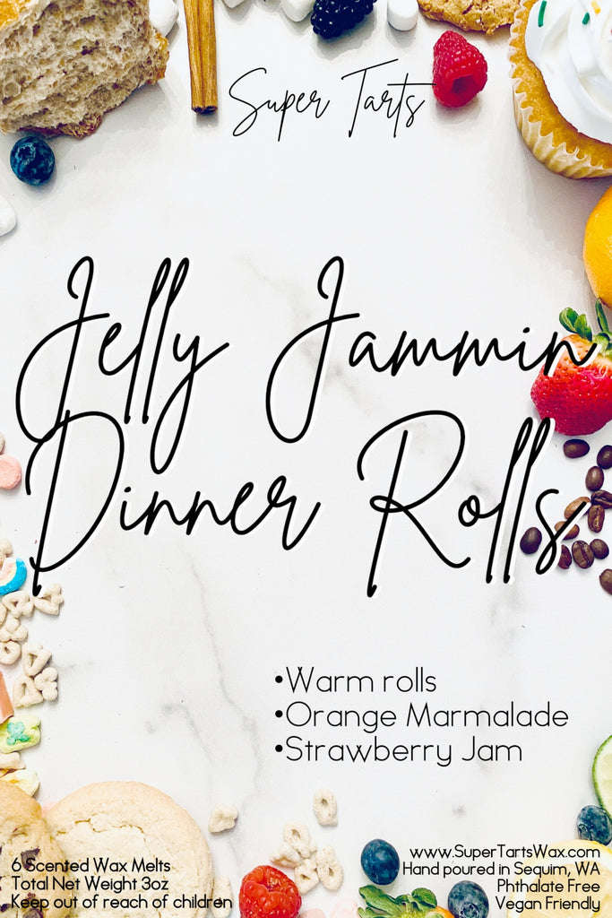Jelly Jammin Dinner Rolls