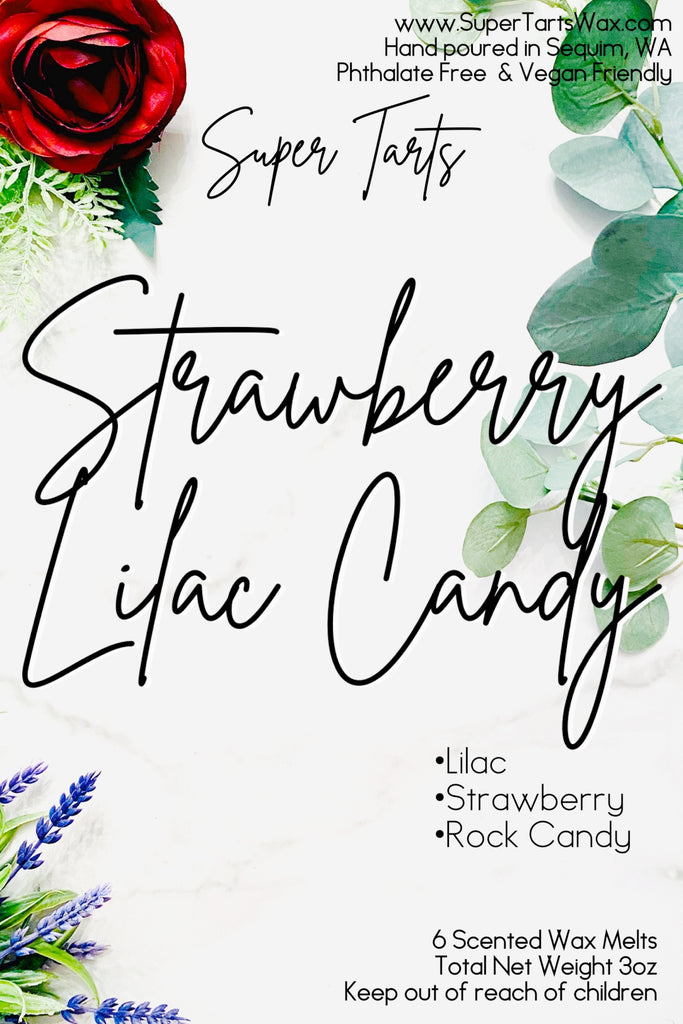 Strawberry Lilac Candy