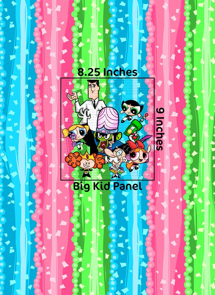 C20 Powerpuff Girls Big Kid Panels Pre-Order